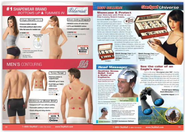 image from SkyMall magazine