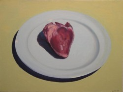 Heart on a Platter by William Pura www.williampura.com