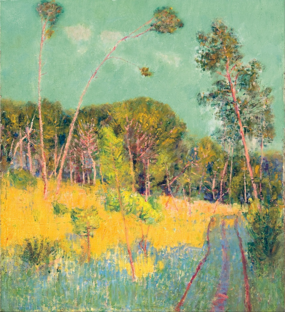 John_Russell_-_A_clearing_in_the_forest_-_Google_Art_Project